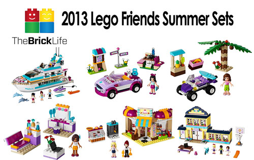 2013 Lego Friends Summer Sets