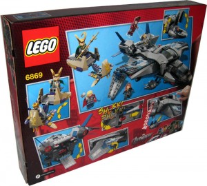 6869-1- Quinjet Aerial Battle Box Back