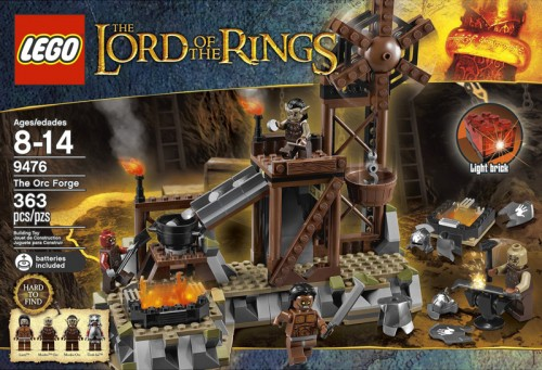 Lego Orc Forge 9476