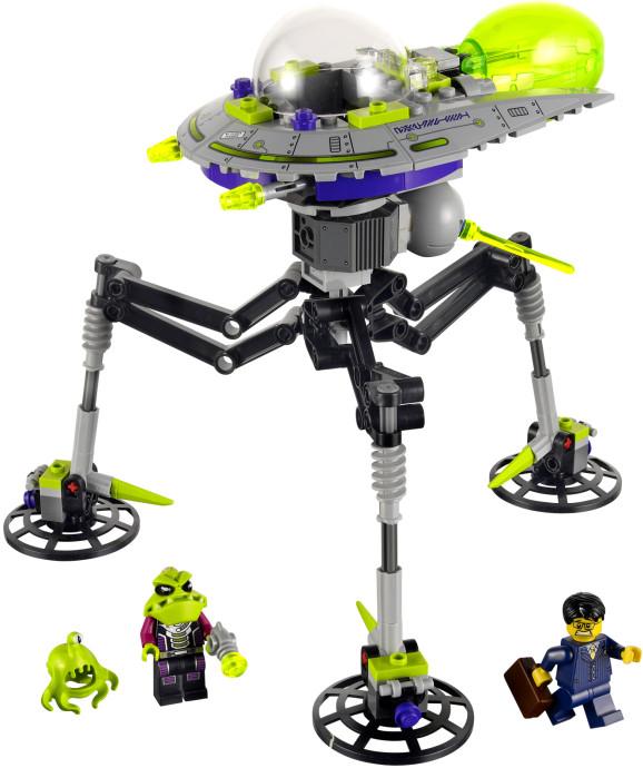 Alien Tripod Lego Set