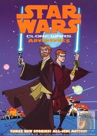 Clone Wars Adventures Comic Cover