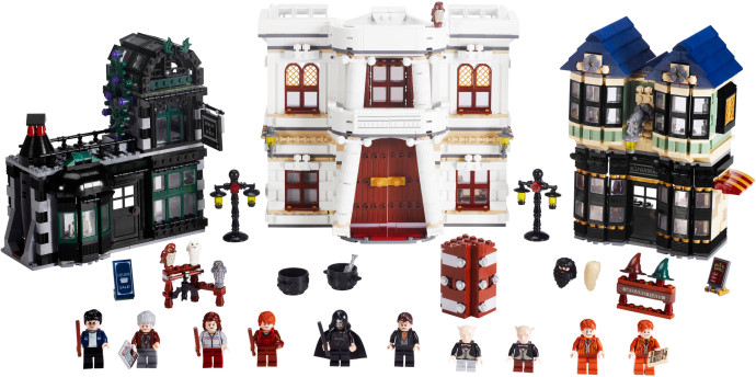 Diagon Alley Lego