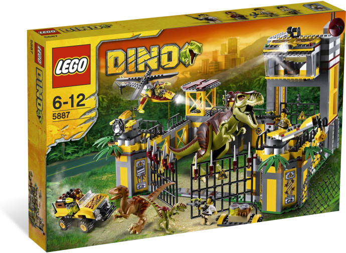 Lego Dinosaurs - Dino Defence HQ