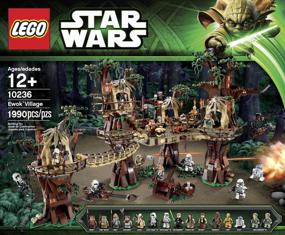 LEGO 10236 Ewok Village Box