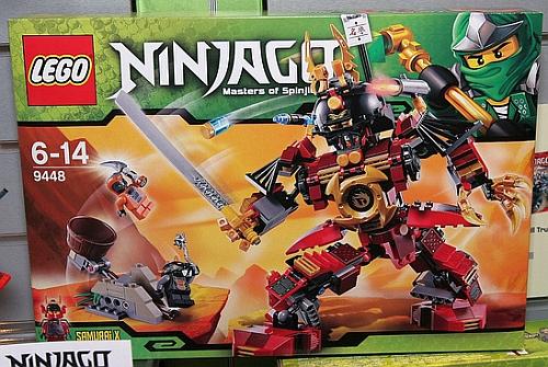 Lego Ninjago Summer 2012 Samurai Mech 9448