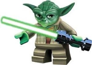 Giant LEGO Yoda Statue