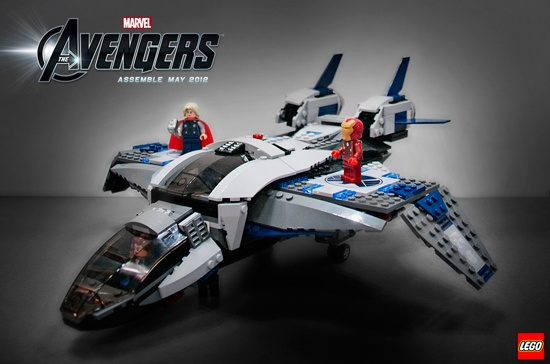 Lego 6869 Quinjet Aerial Battle
