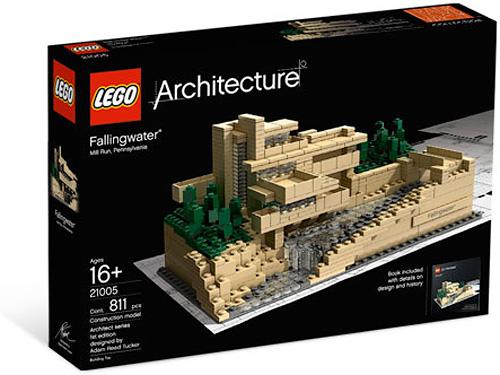 lego architecture fallingwater review set 21005. Black Bedroom Furniture Sets. Home Design Ideas