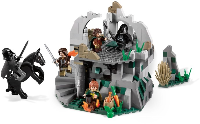 Lego Attack On Weathertop Set 9472