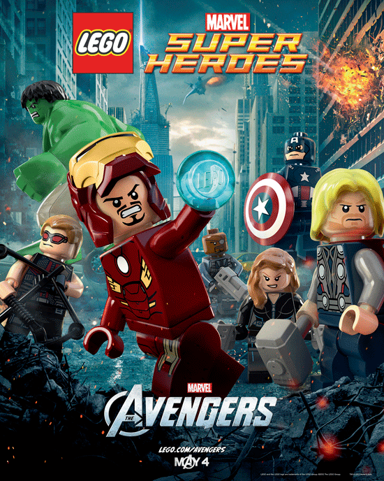Lego Avengers Movie Poster