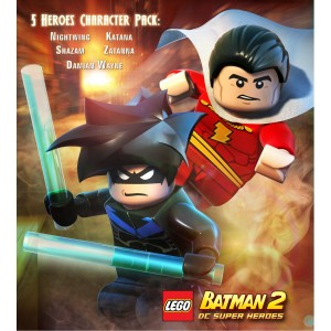 Lego Batman 2 Game Characters Pack