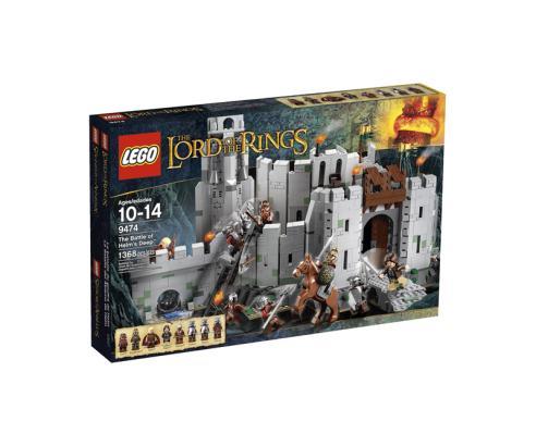 Lego Battle Of Helm's Deep Box