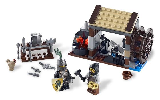 Lego Blacksmith Attack Set