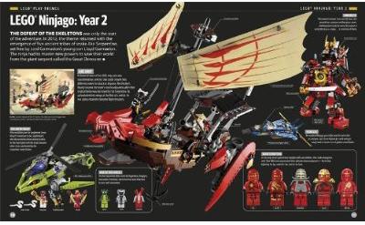 Lego Book 2012 Ninjago