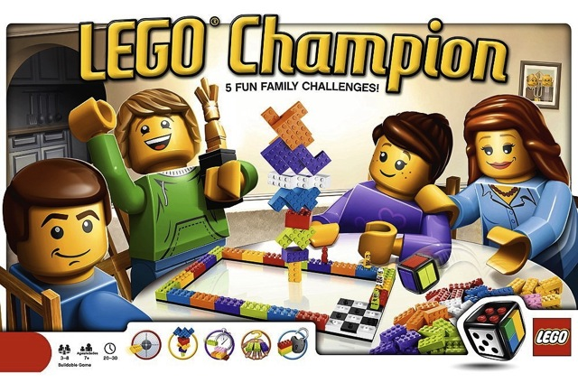 Lego Champion Board Game Review Set 3861