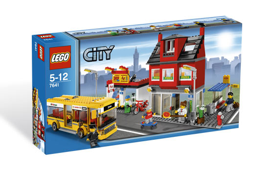 Lego City Corner Box
