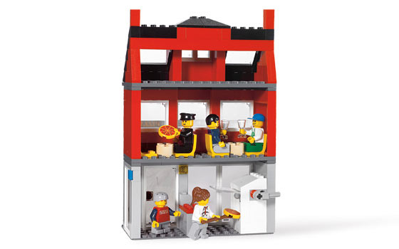Lego City Corner Pizza Parlor