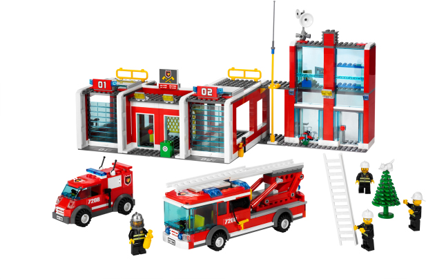 Lego Fire Station Set Guide And Reviews