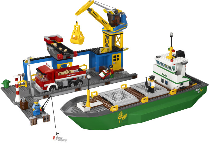 Lego City Harbor 4654